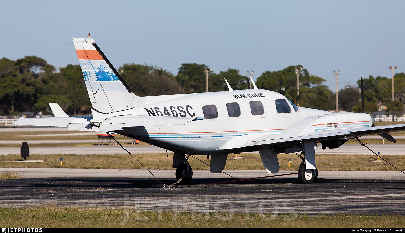 N646SC - Piper PA-31P Pressurized Navajo - Sun Care Air Ambulance