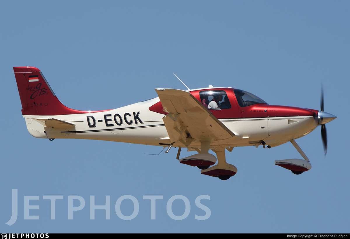 D-EOCK - Cirrus SR22-GTSx Turbo - Cirrus Aviation
