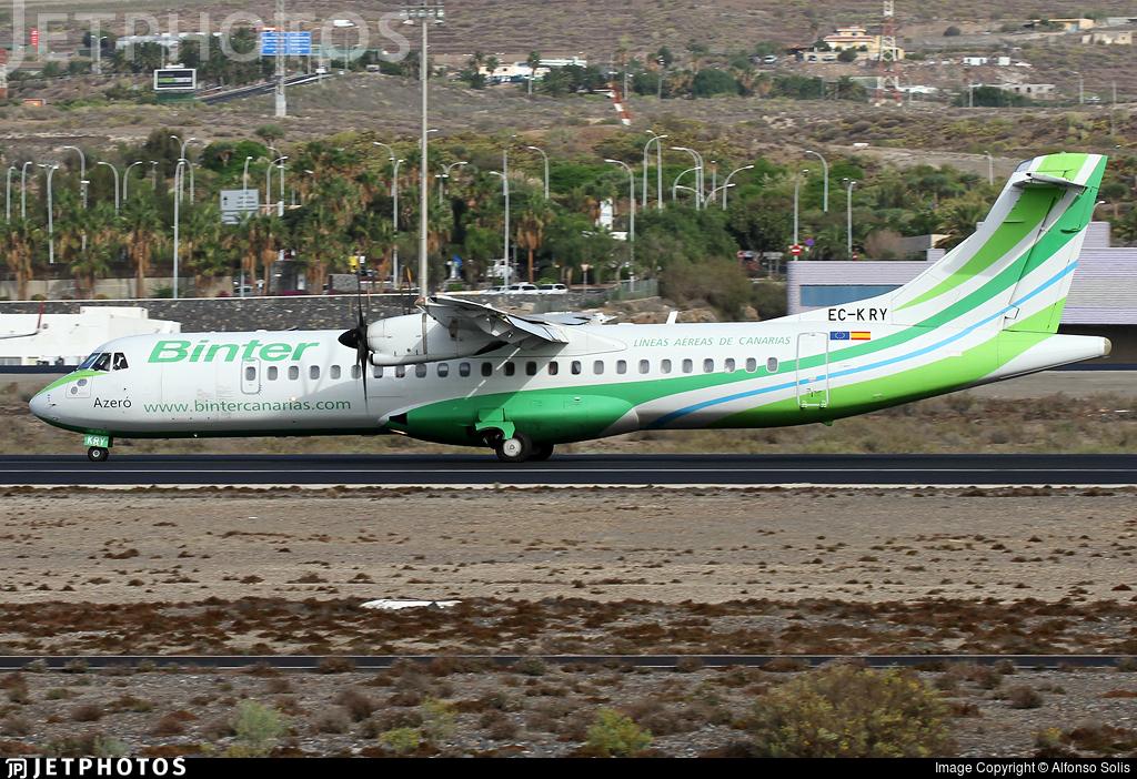 EC-KRY - ATR 72-212A(500) - Binter Canarias (Naysa)
