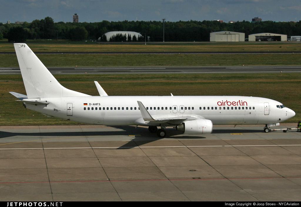 D-AHFS - Boeing 737-8K5 - Air Berlin