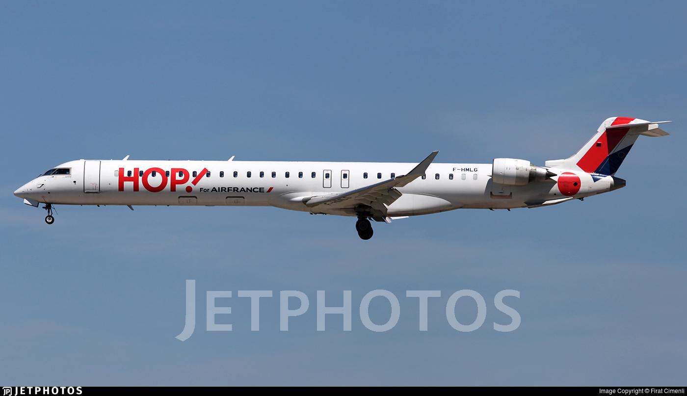 F-HMLG - Bombardier CRJ-1000 - HOP! for Air France