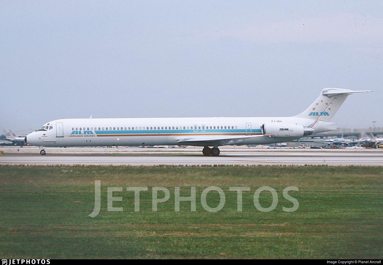 PJ-SEH - McDonnell Douglas MD-82 - ALM Antillean Airlines