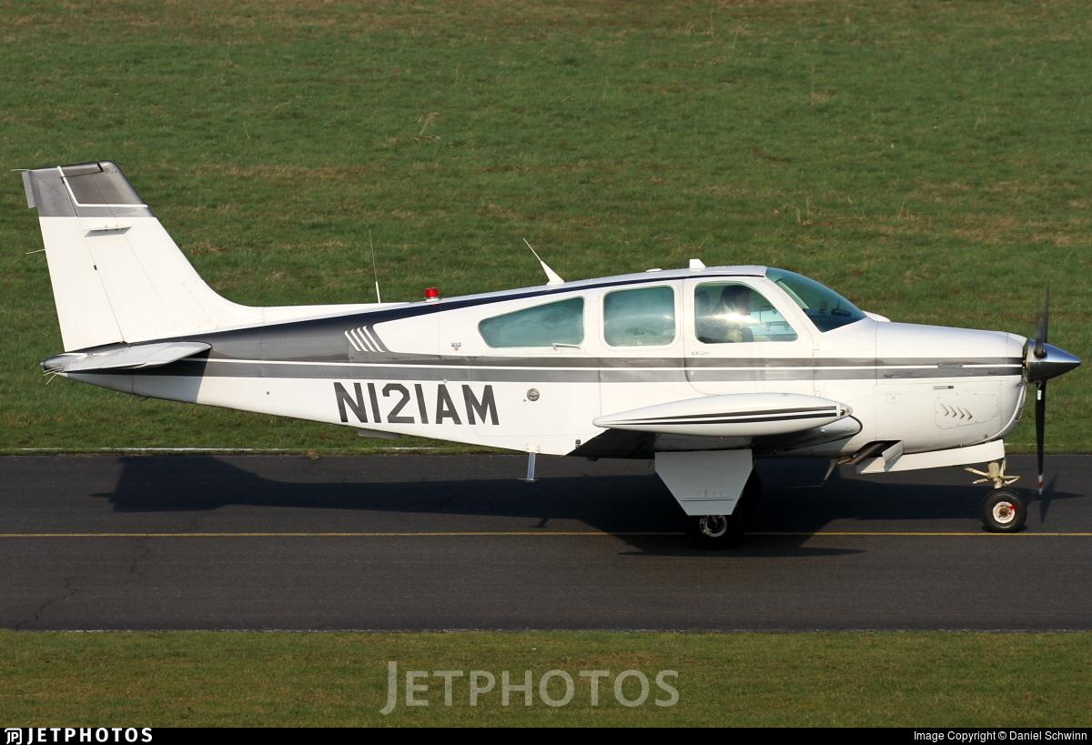 N121AM - Beechcraft F33A Bonanza - Private