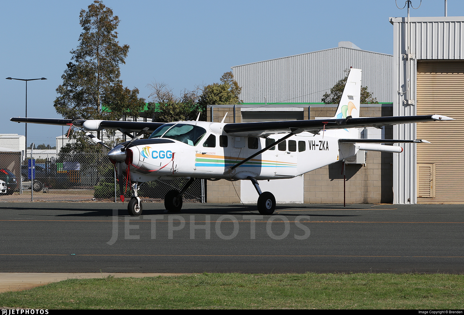 VH-ZKA - Cessna 208B Grand Caravan - CGG Aviation