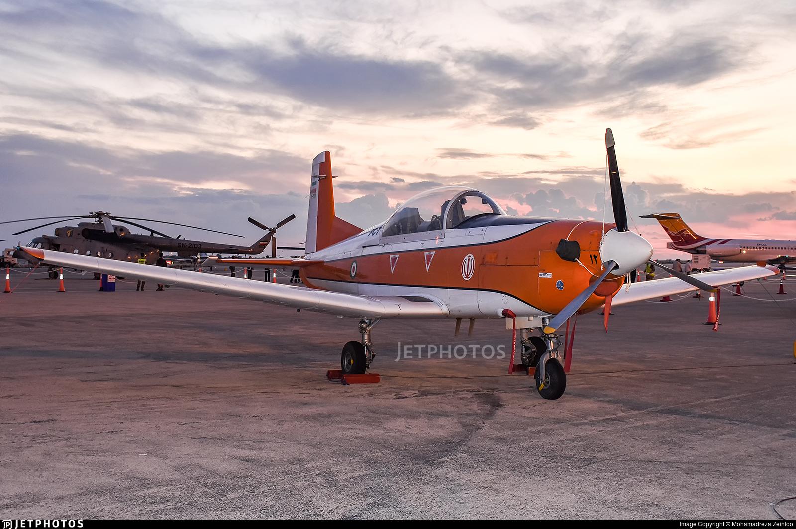 7-9912 - Pilatus PC-7 - Iran - Air Force
