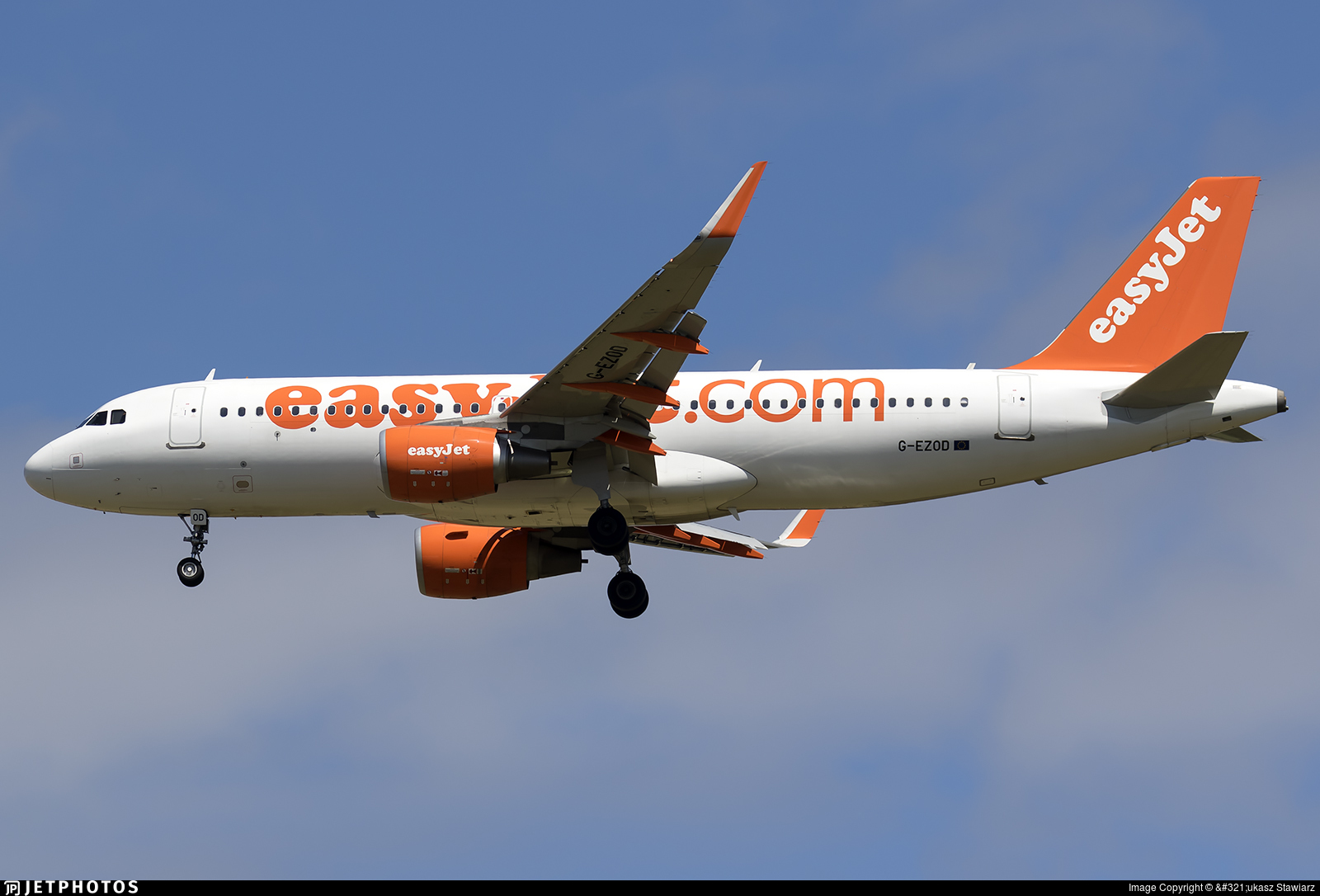 G-EZOD - Airbus A320-214 - easyJet