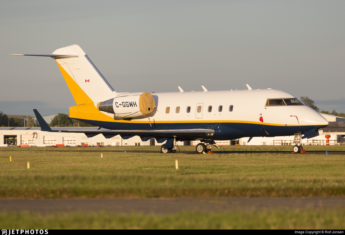 C-GGWH - Bombardier CL-600-2B16 Challenger 604 - Sunwest Aviation