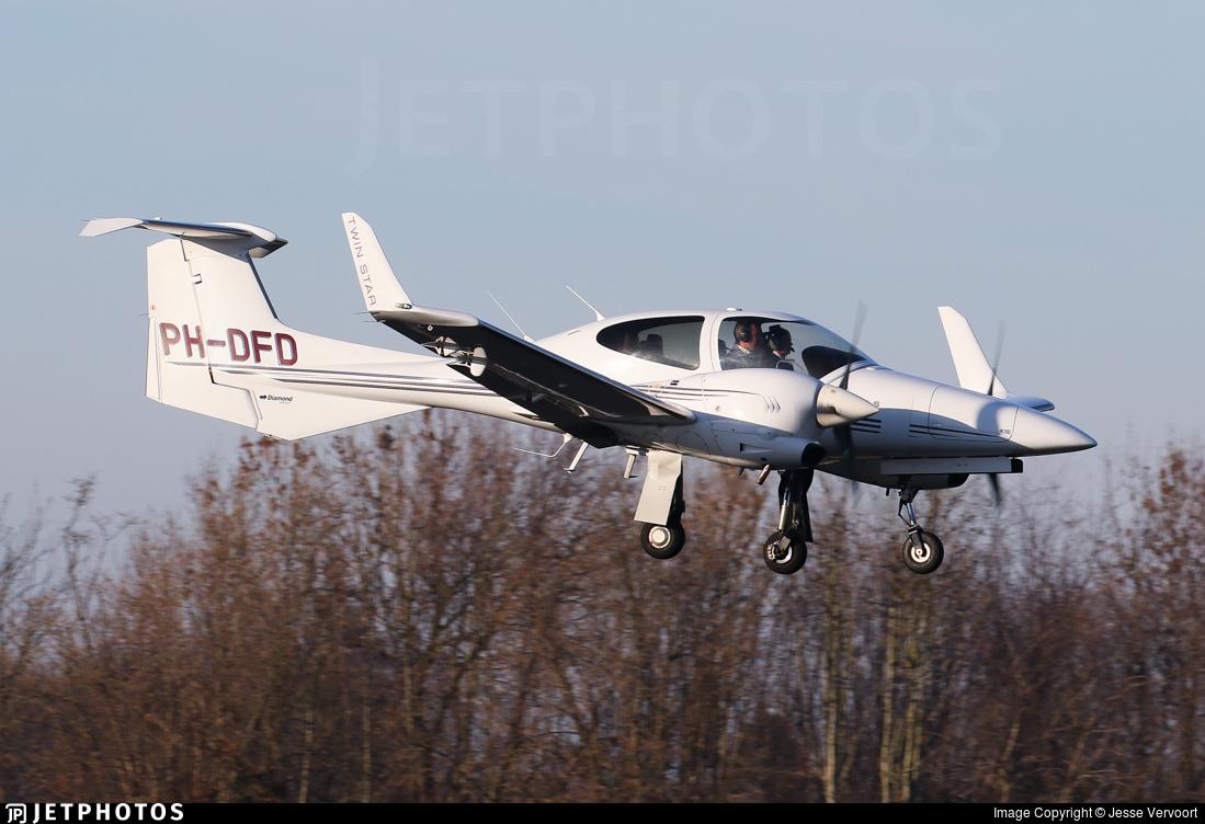 PH-DFD - Diamond DA-42 Twin Star - Private