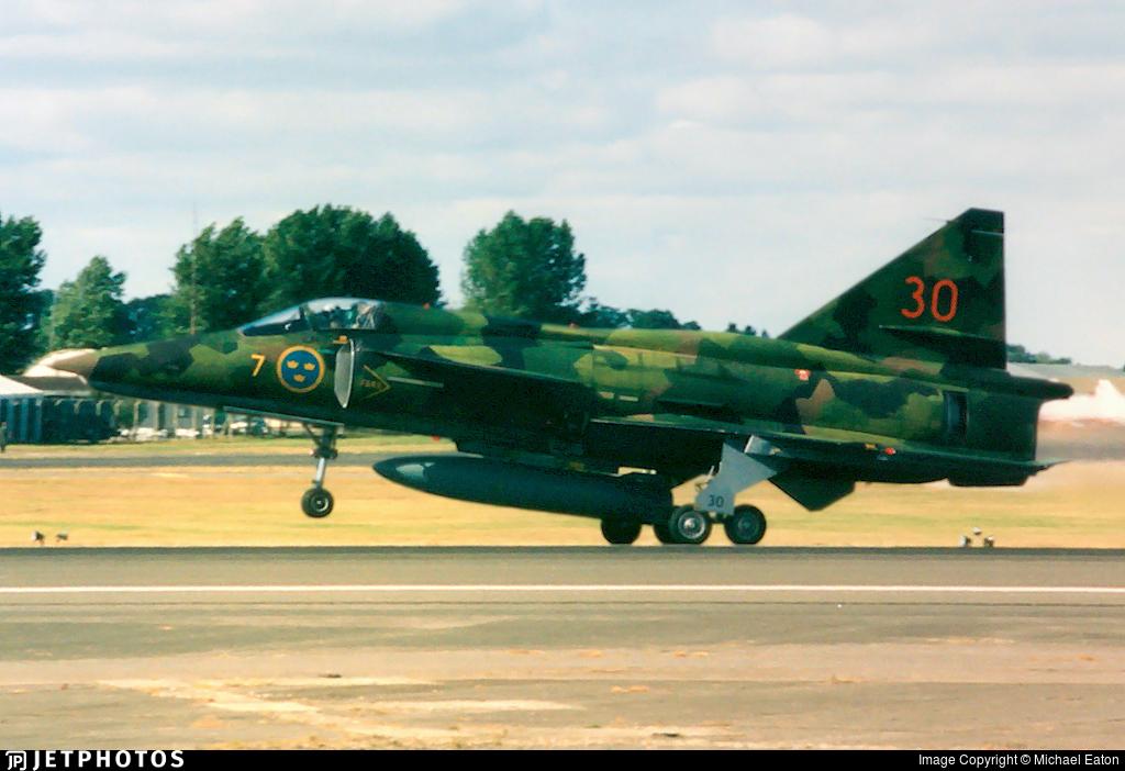 37954 - Saab AJSF37 Viggen - Sweden - Air Force