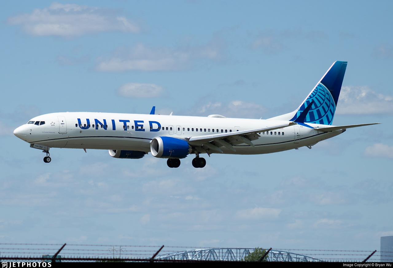 N27519 - Boeing 737-9 MAX - United Airlines
