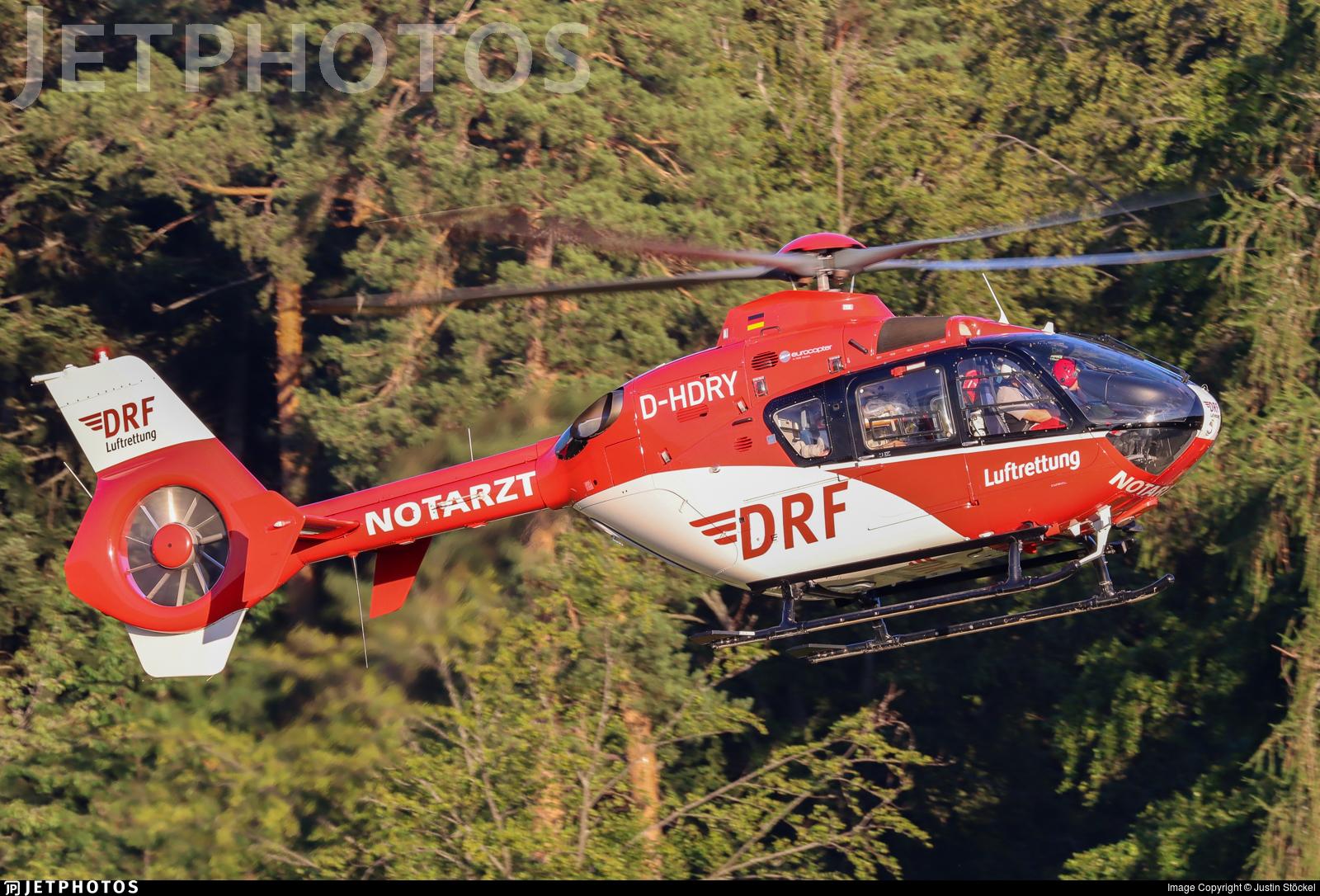 D-HDRY - Eurocopter EC 135P2 - Deutsche Rettungsflugwacht (DRF)