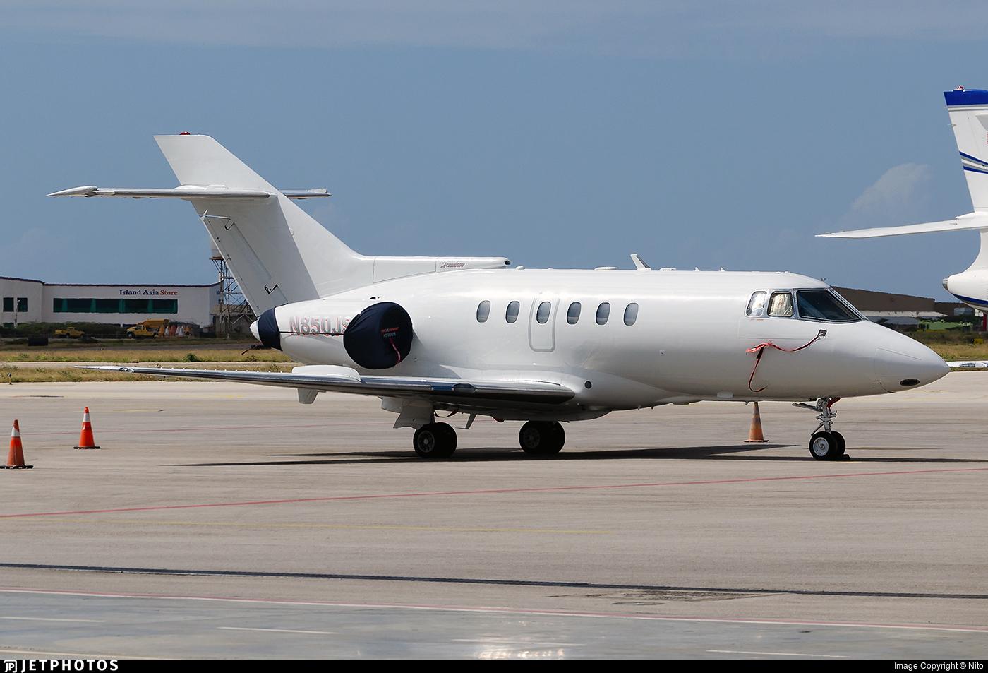 N850JS - British Aerospace BAe 125-800A - Private