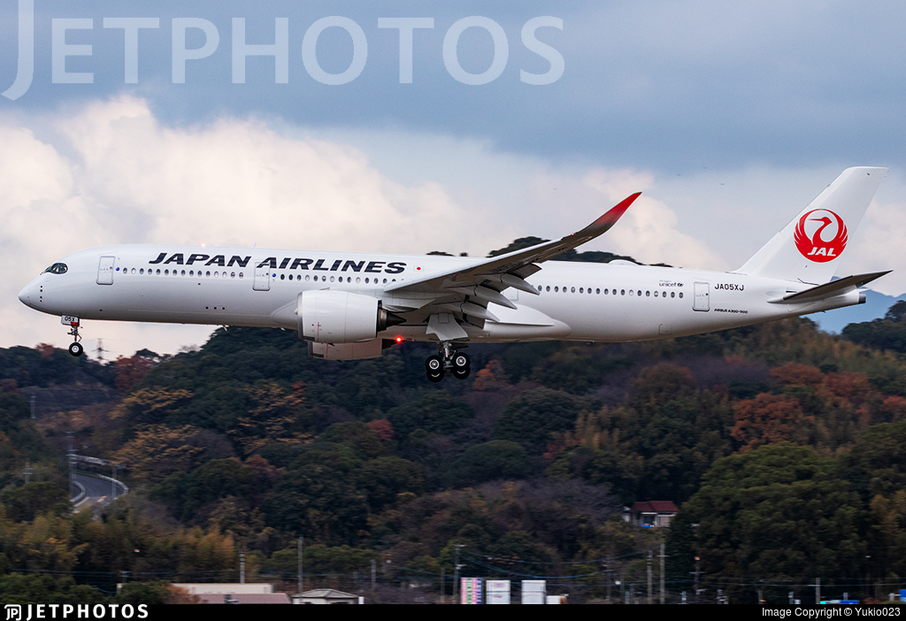 JA05XJ - Airbus A350-941 - Japan Airlines (JAL)
