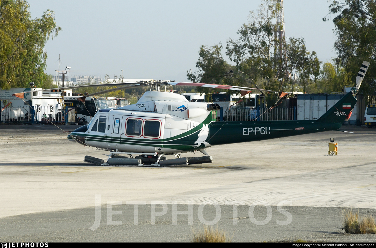 EP-PGH - Bell 412 - Persian Gulf Aviation Service