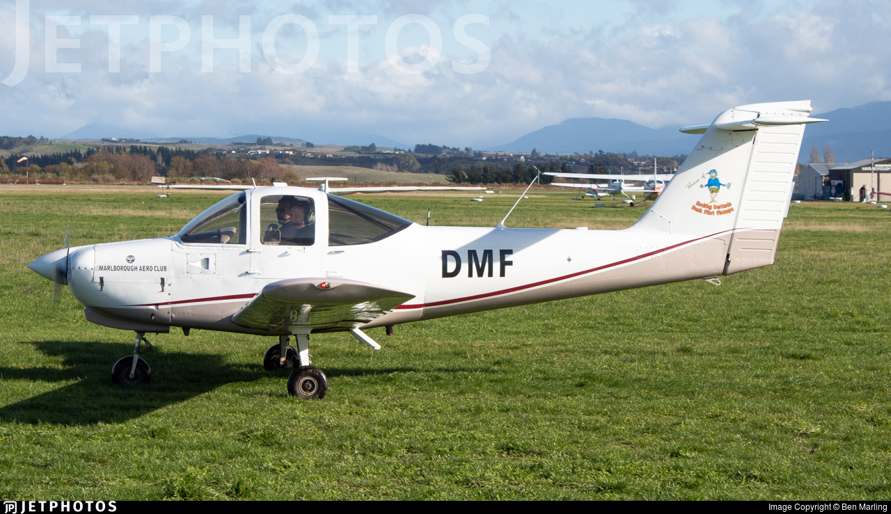 ZK-DMF - Piper PA-38-112 Tomahawk - Marlborough Aero Club