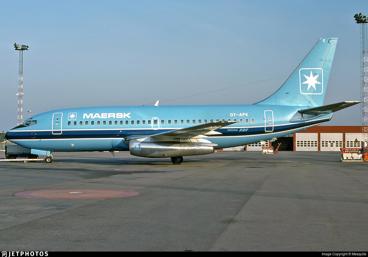 OY-APK - Boeing 737-2L9(Adv) - Maersk Air