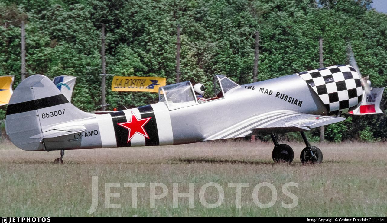 LY-AMO - Yakovlev Yak-50 - Private