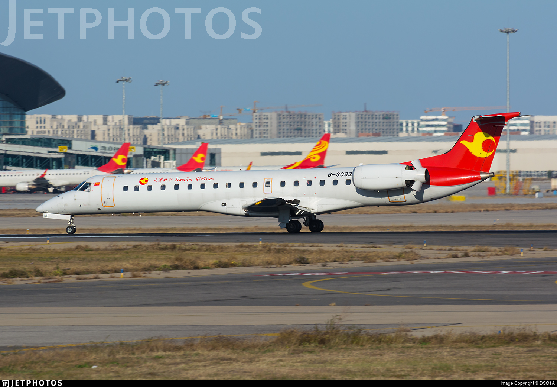B-3082 - Embraer ERJ-145LI - Tianjin Airlines