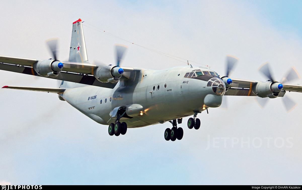 RF-94396 - Antonov An-12BK - Russia - Air Force
