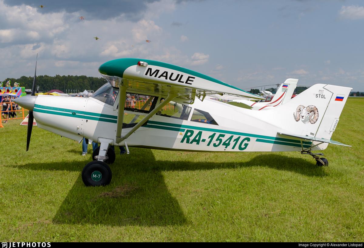 RA-1541G - Maule M-7-235C Orion - Private