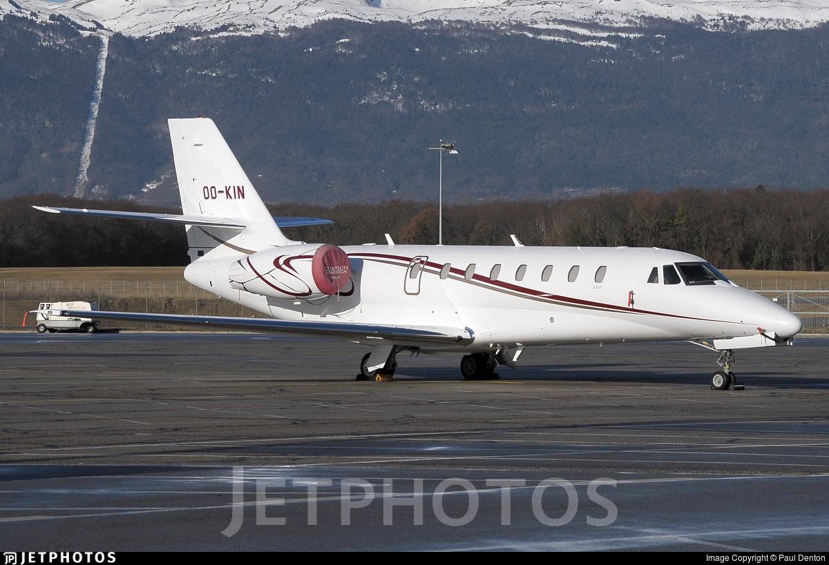 OO-KIN - Cessna 680 Citation Sovereign - Flying Service