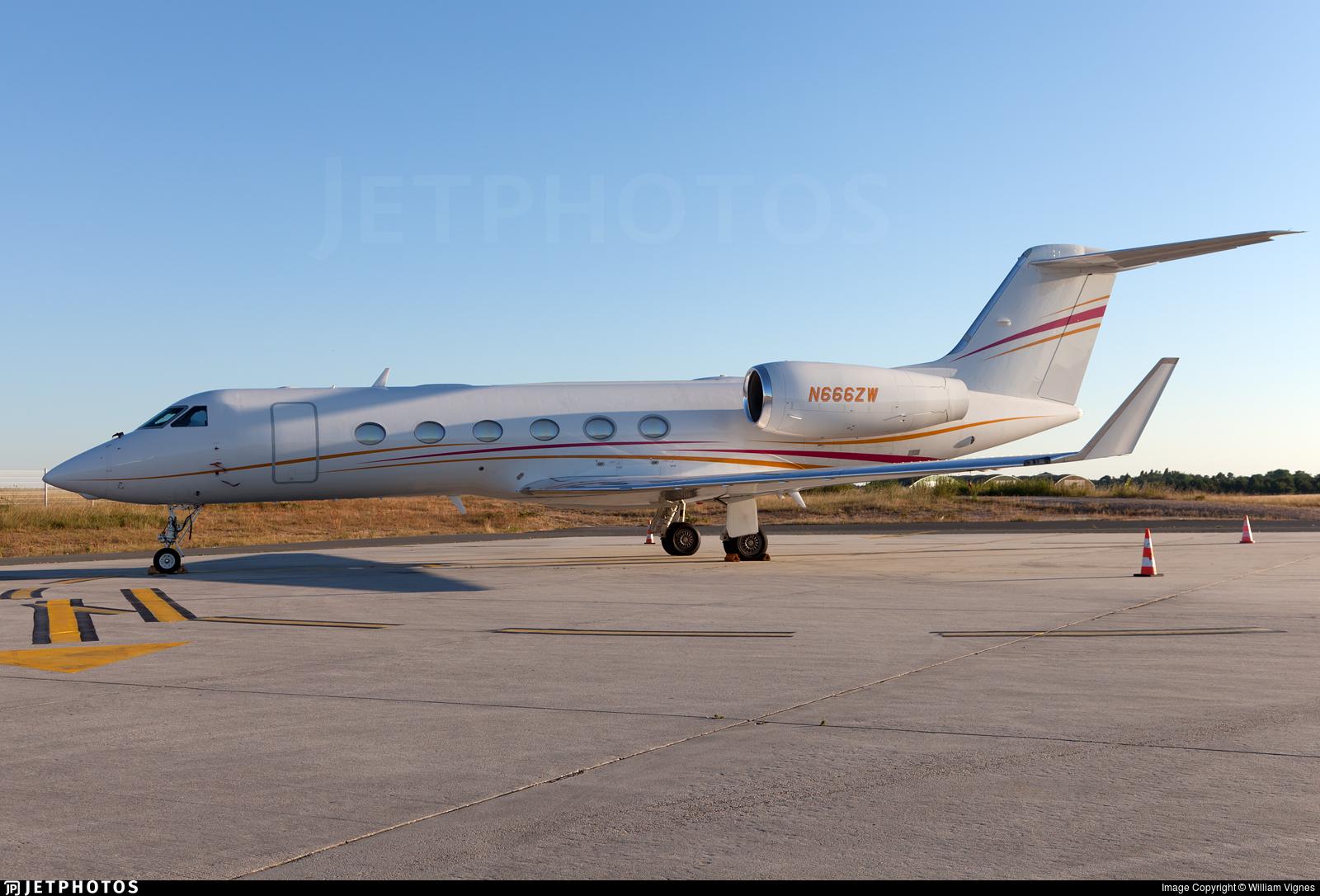 N666ZW - Gulfstream G450 - Private
