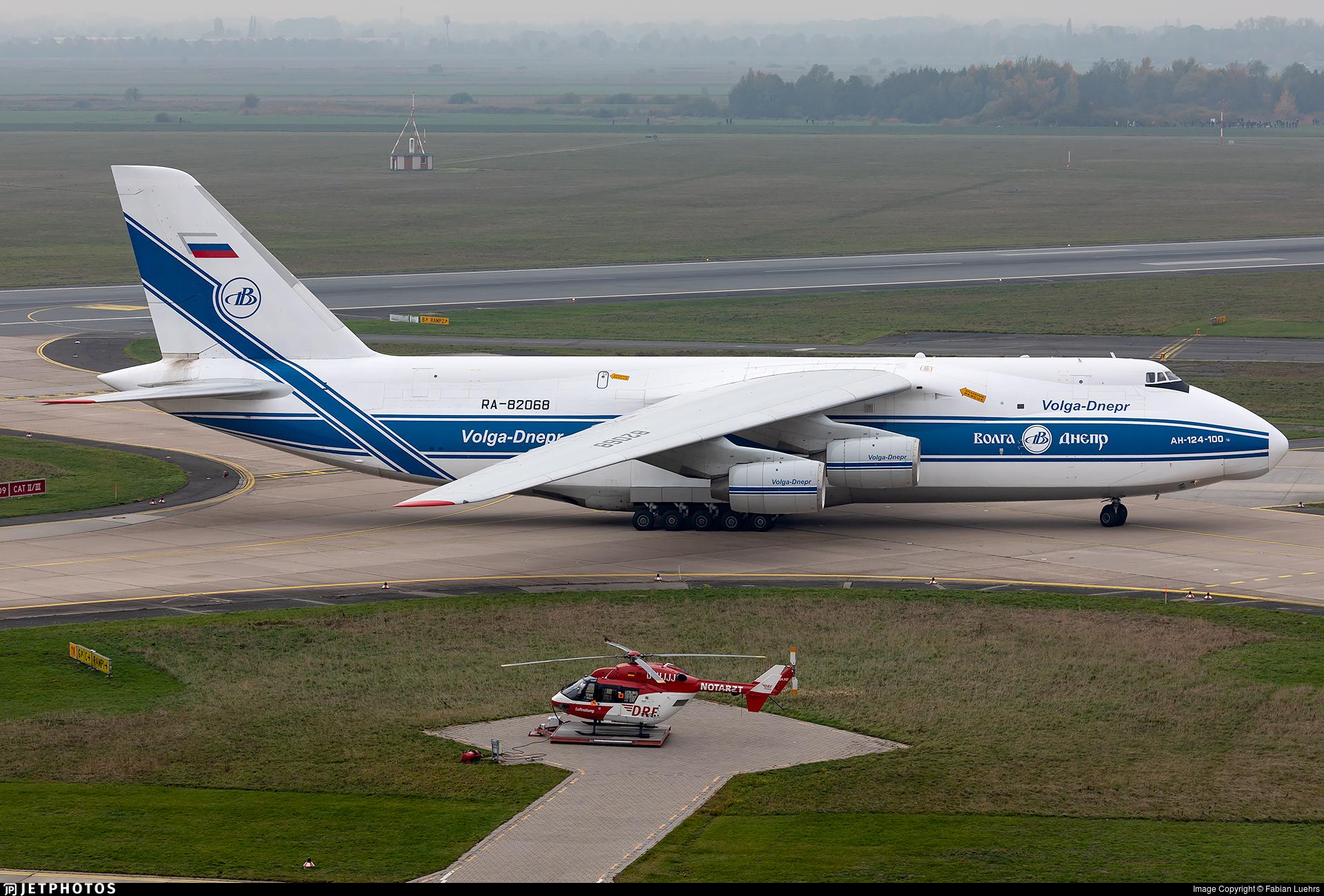 RA-82068 - Antonov An-124-100 Ruslan - Volga Dnepr Airlines