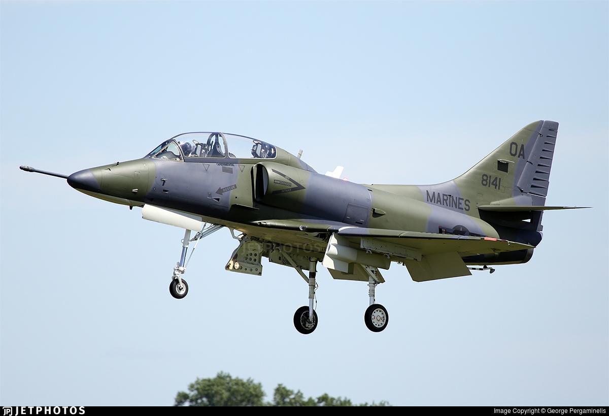N234LT - McDonnell Douglas TA-4J Skyhawk - Private