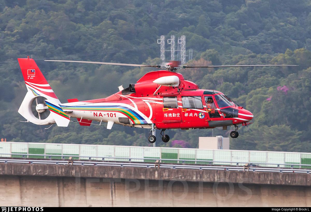 NA-101 - Aérospatiale SA 365N1 Dauphin 2 - Taiwan - National Airborne Service Corps (NASC)