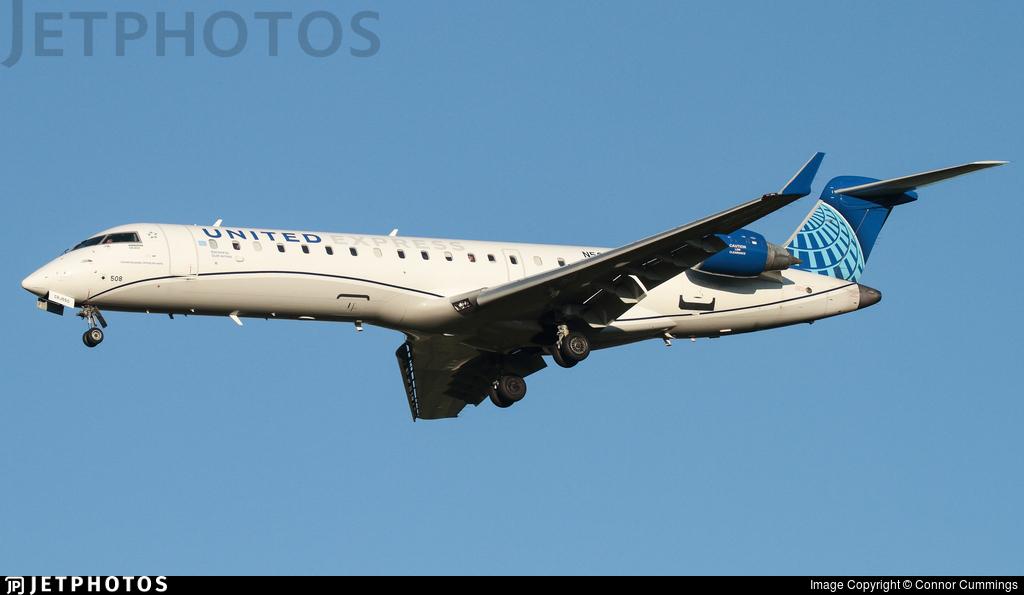 N508GJ - Bombardier CRJ-550 - United Express (GoJet Airlines)
