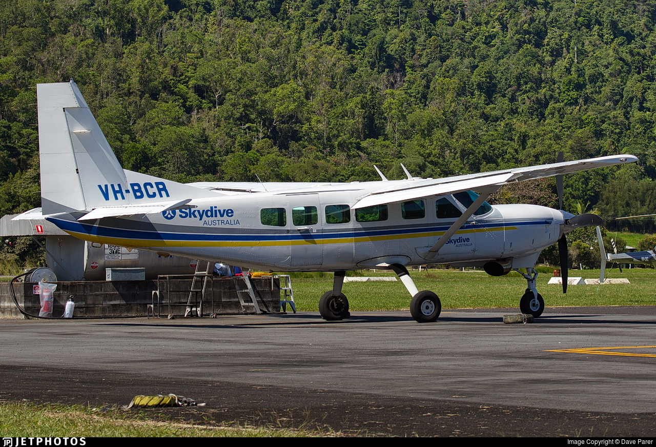 VH-BCR - Cessna 208 Caravan - Skydive Australia