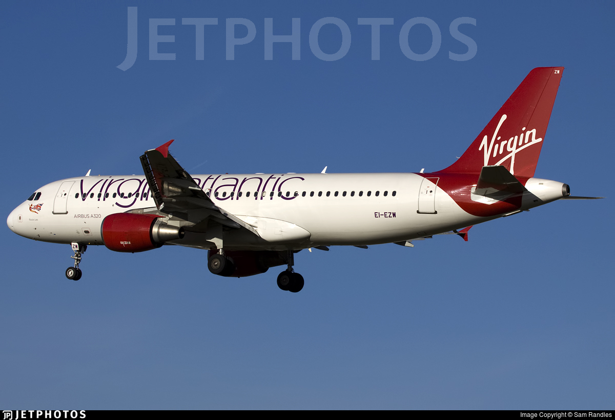 EI-EZW - Airbus A320-214 - Virgin Atlantic Airways (Aer Lingus)