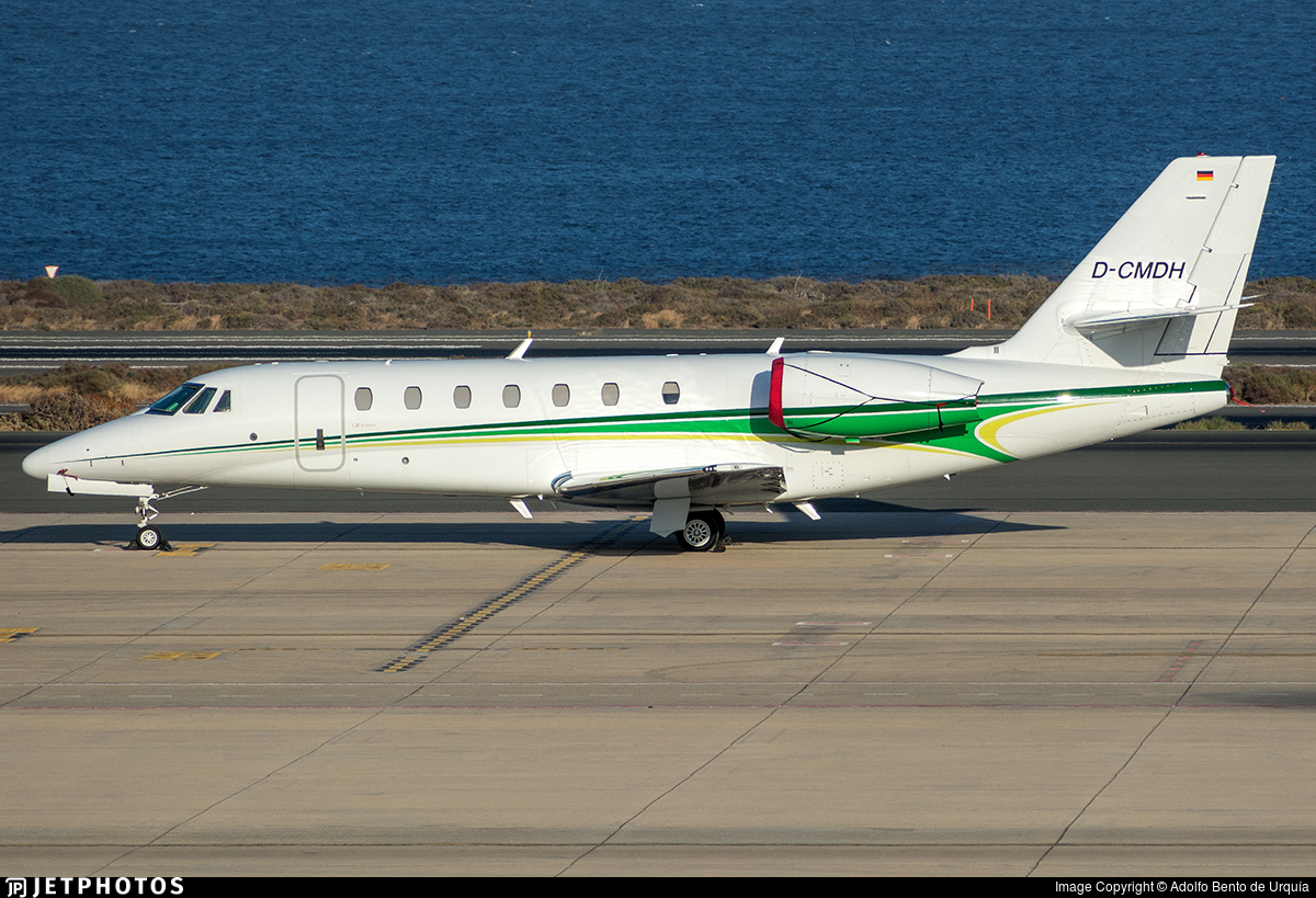 D-CMDH - Cessna 680 Citation Sovereign - Herrenknecht Aviation