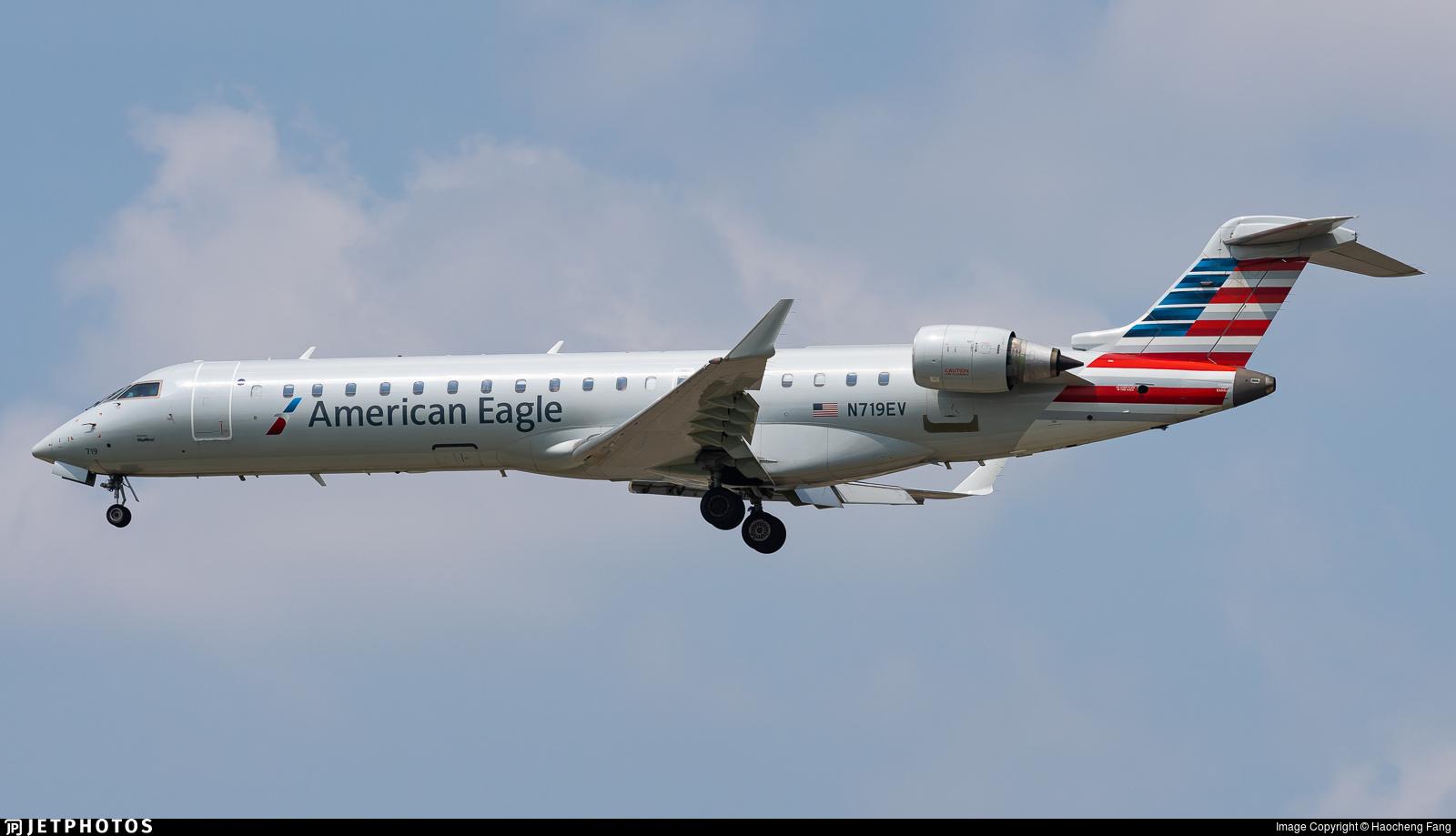 N719EV - Bombardier CRJ-701ER - American Eagle (SkyWest Airlines)