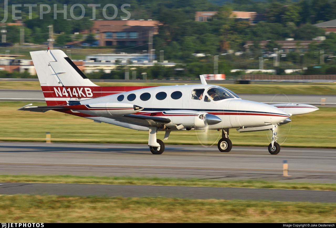 N414KB - Cessna 414 Chancellor - Private