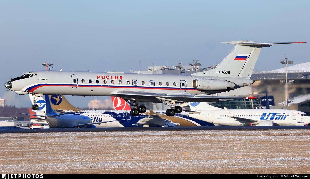 RA-65911 - Tupolev Tu-134A-3 - Rossiya - Special Flight Squadron