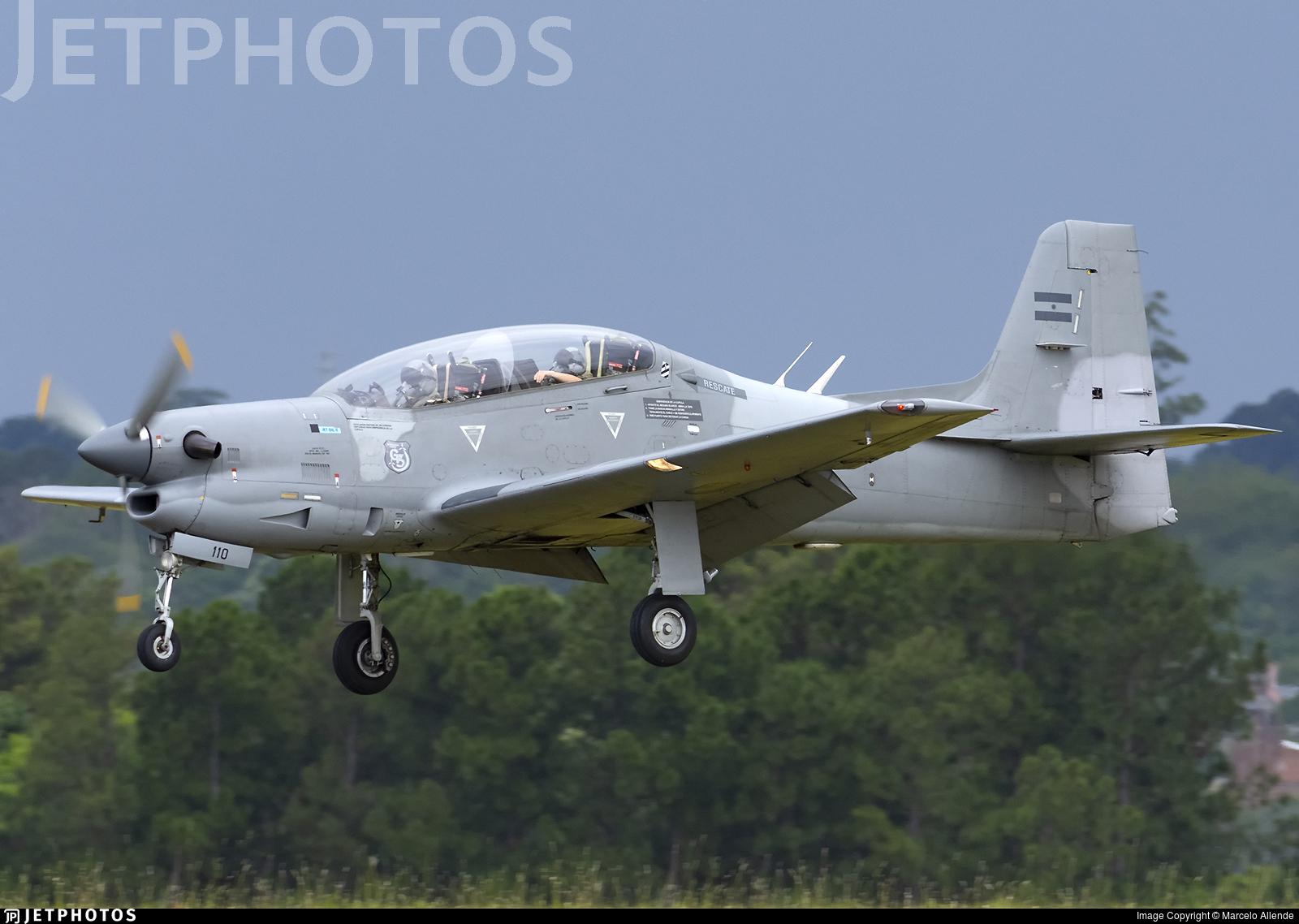 A-110 - Embraer EMB-312 Tucano - Argentina - Air Force