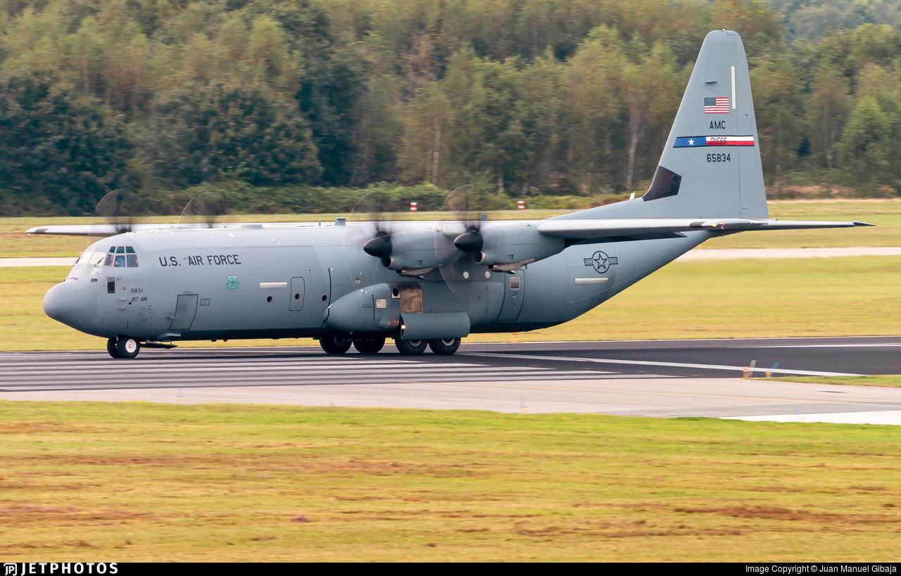 16-5834 - Lockheed Martin C-130J-30 Hercules - United States - US Air Force (USAF)