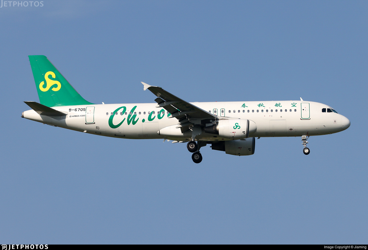 B-6705 - Airbus A320-214 - Spring Airlines