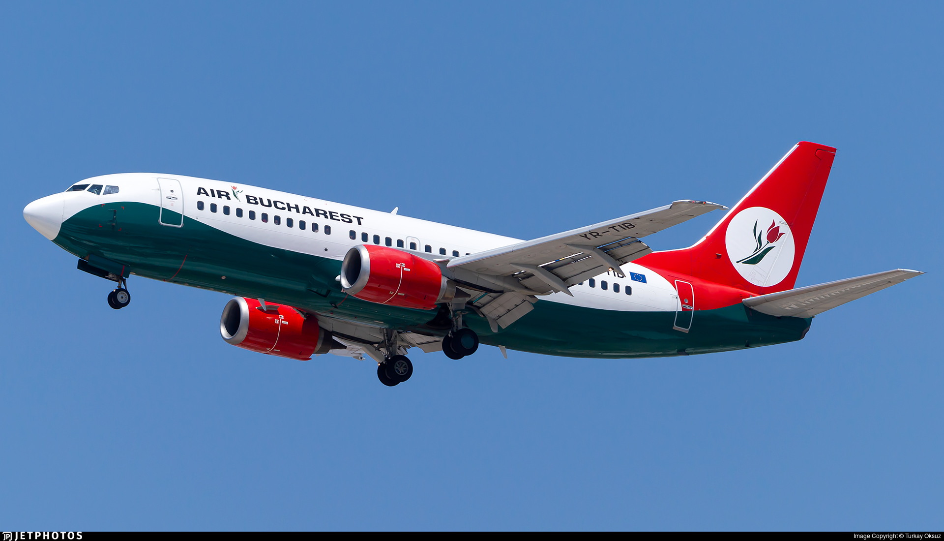 YR-TIB - Boeing 737-3L9 - Air Bucharest