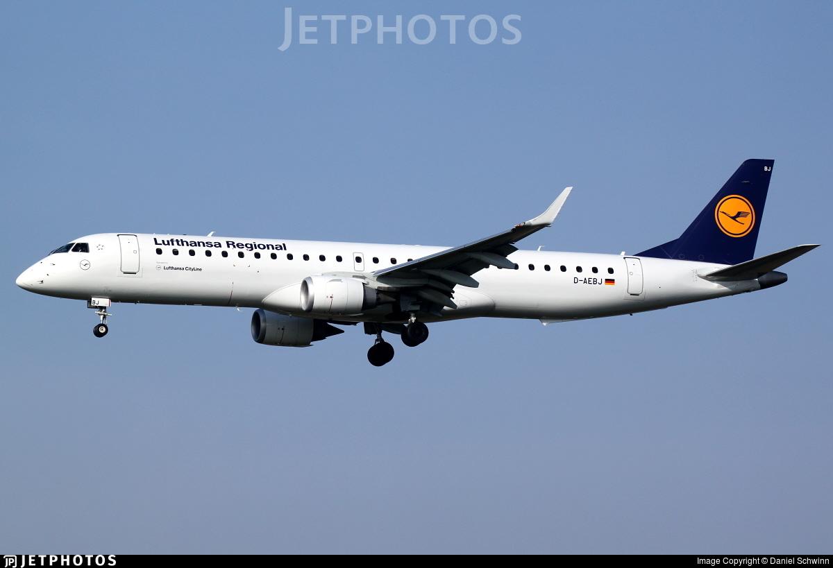 D-AEBJ - Embraer 190-200LR - Lufthansa Regional (CityLine)