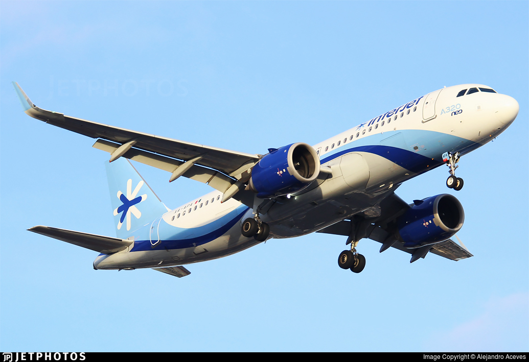 XA-APA - Airbus A320-251N - Interjet