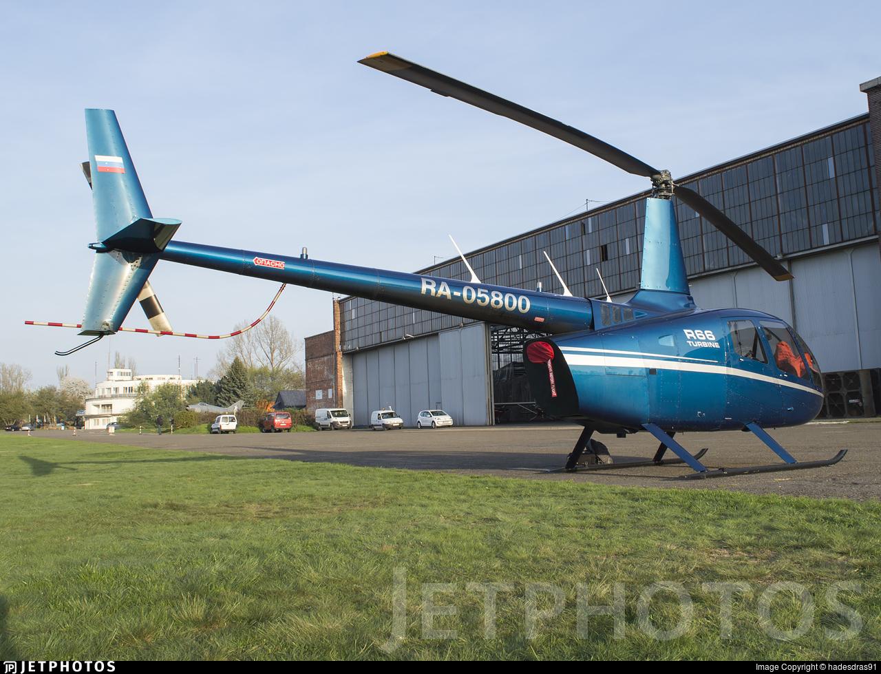 RA-05800 - Robinson R66 Turbine - Private