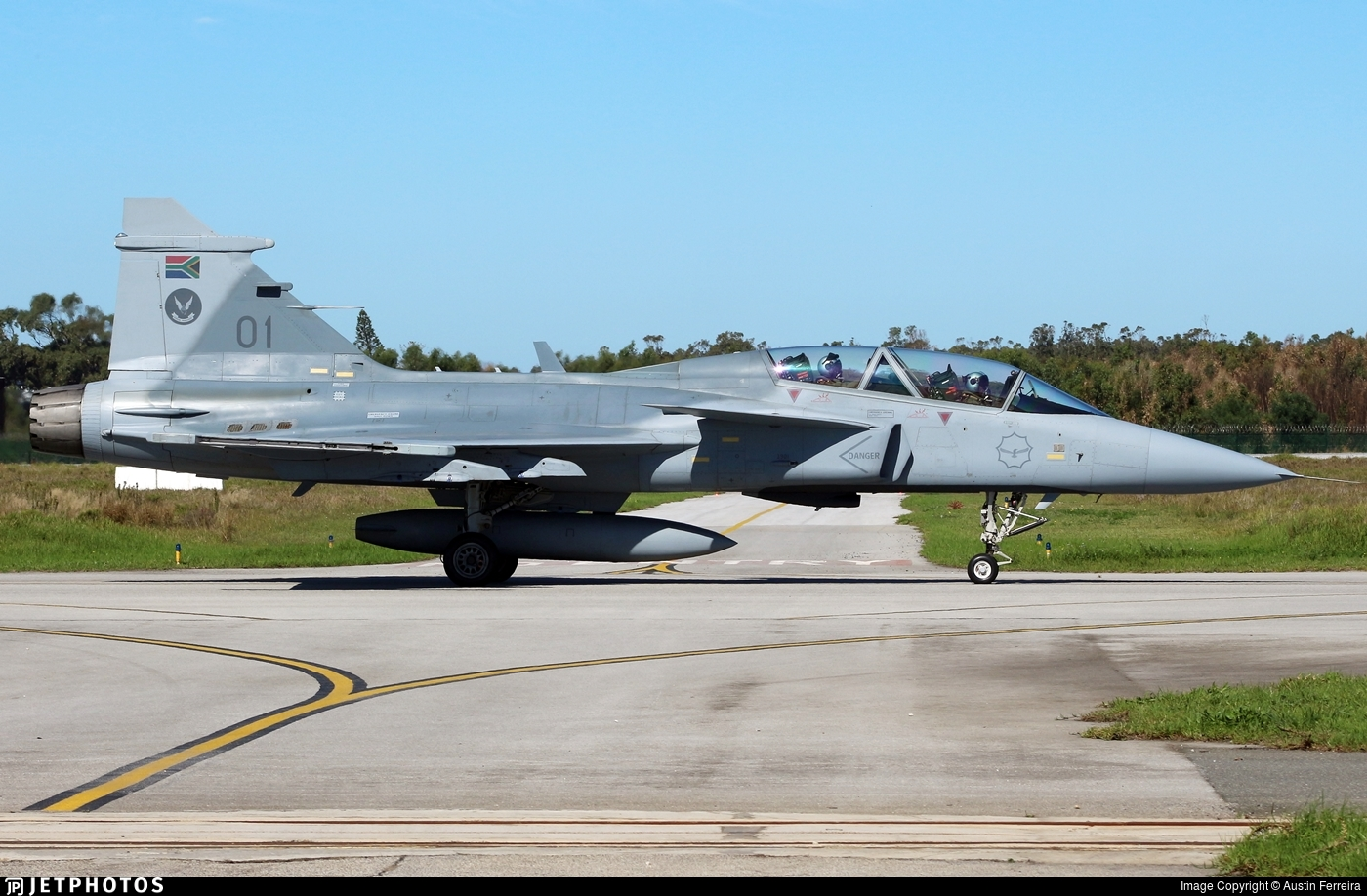 3901 - Saab JAS-39D Gripen - South Africa - Air Force