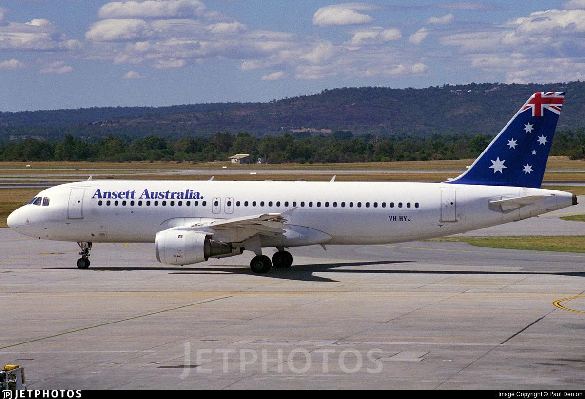 VH-HYJ - Airbus A320-211 - Ansett Airlines of Australia