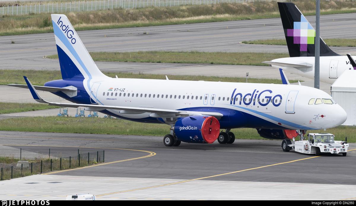 VT-IJZ - Airbus A320-271N - IndiGo Airlines
