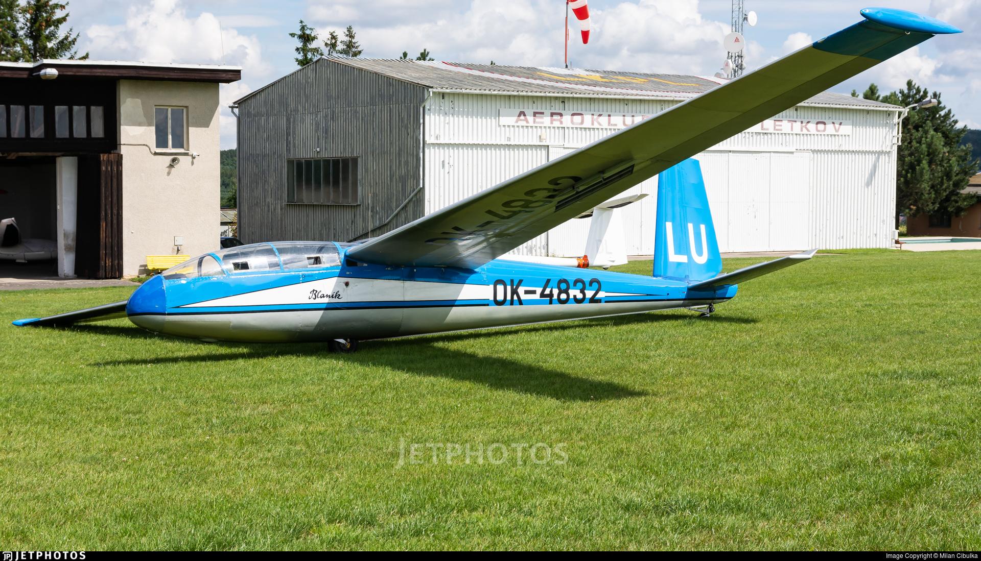 OK-4832 - Let L-13 Blanik - Aero Club - Plze?-Letkov