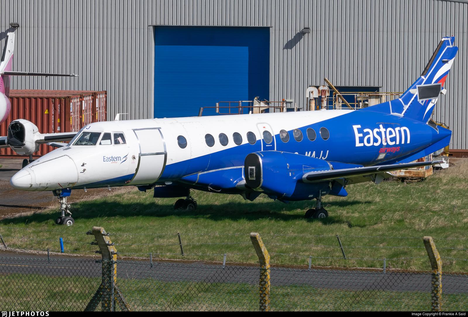 G-MAJJ - British Aerospace Jetstream 41 - Eastern Airways
