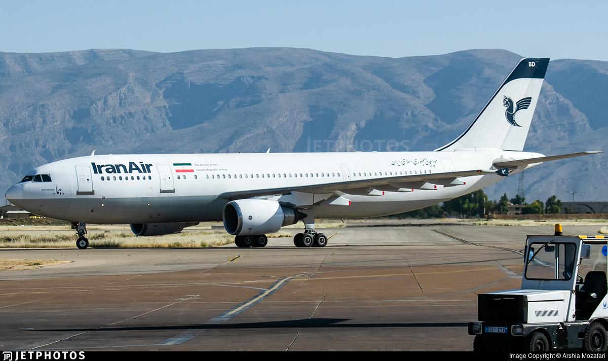 EP-IBD - Airbus A300B4-605R - Iran Air