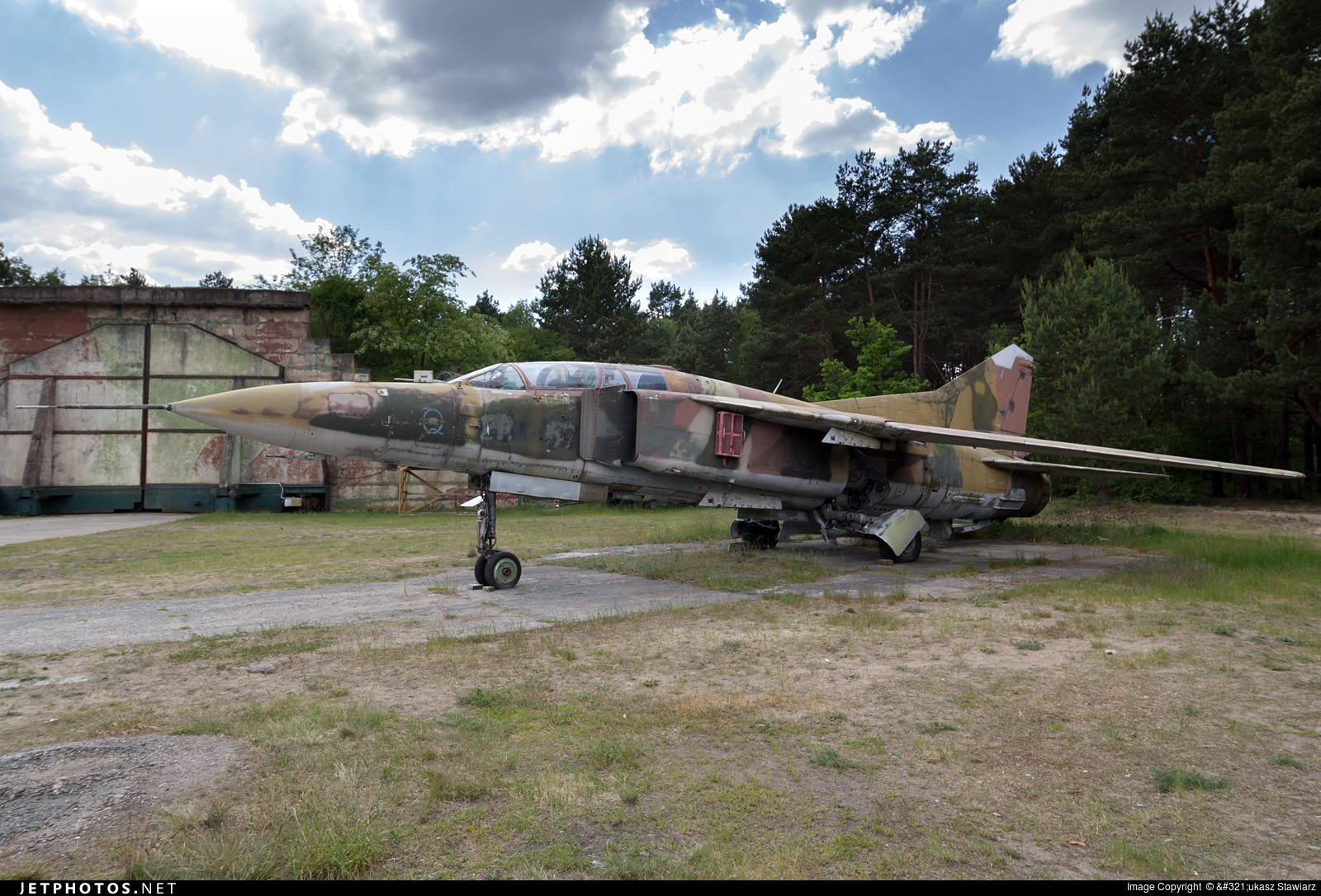 20-57 - Mikoyan-Gurevich MiG-23U Flogger C - Germany - Air Force